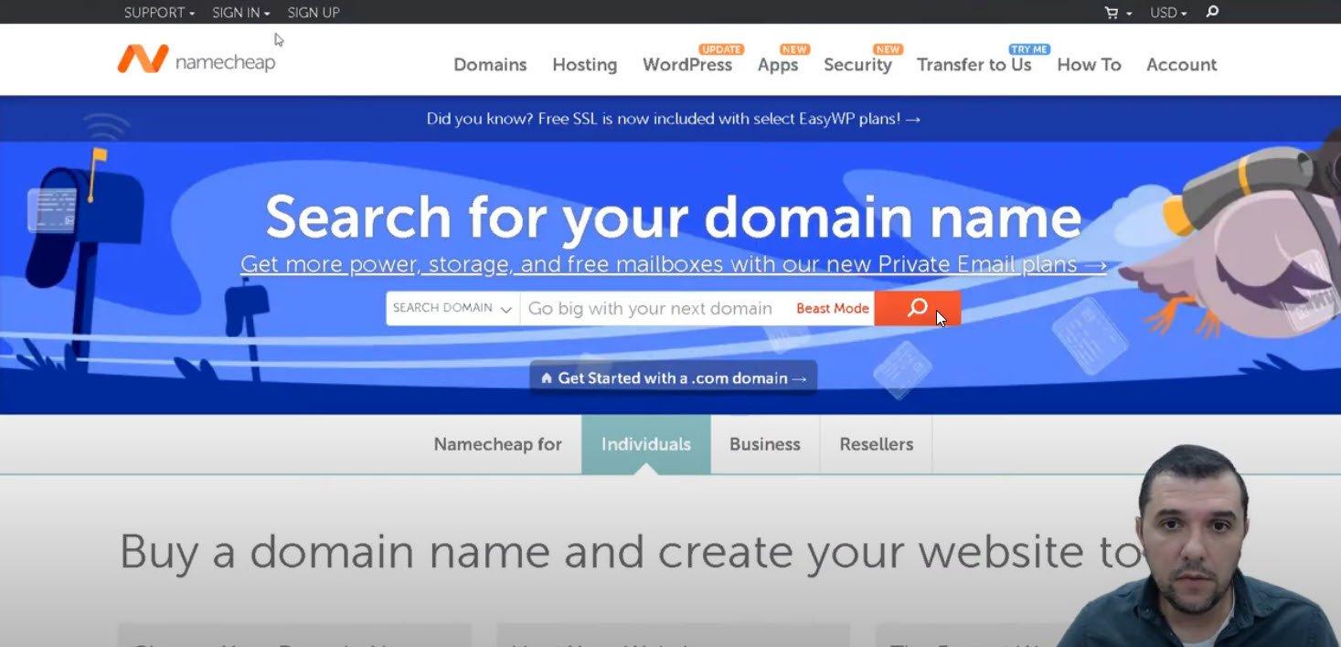 dominio hosting