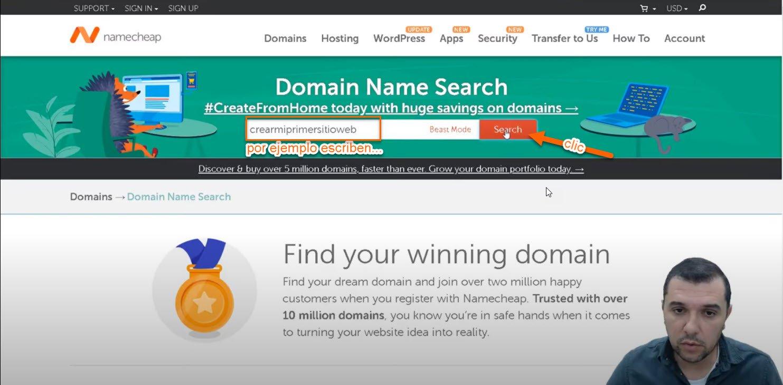 dominio hosting3