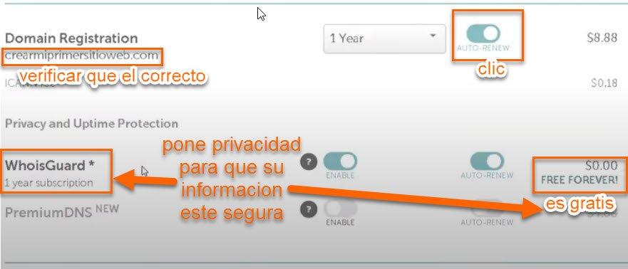 dominio hosting5